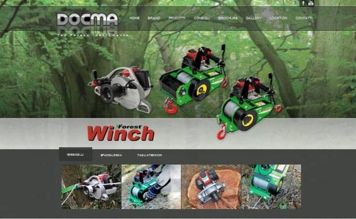 04/08/2014 - 12.30.  www.docma.it   Il nuovo sito Internet di Docma Srl sarà online.  The new web site of Docma srl wi...