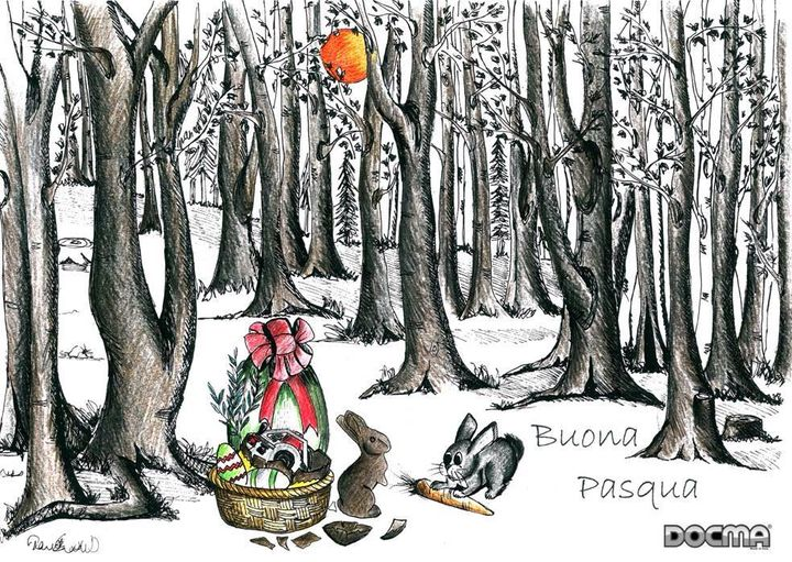 Joyeuses Pâques - Joyeuses Pâques - Frohe Ostern - Joyeuses Pâques - Feliz Pascua - Boa Pascoa.  ·