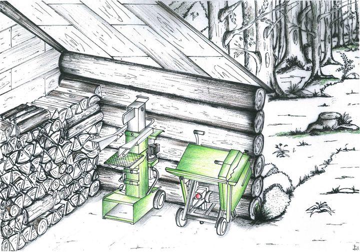 Legnaia Docma - Forest Woodshed