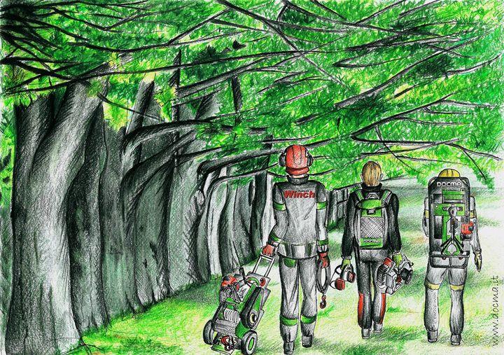 Les décors ForestWinch: le printemps en forêt - Les décors ForestWinch: ...