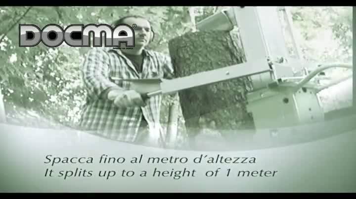 N'oubliez pas: Fendeuse de bûches-Fendeuse de bûches-Holzspalter-Fendeuse SF100 RAPID BENZ SUB - www.docma.it ·