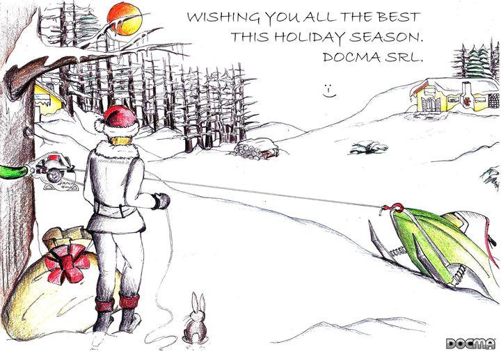 Nous souhaitons à tous un joyeux Noël et une excellente année 2015!