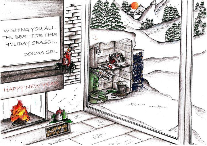 Nous vous souhaitons à tous un joyeux Noël et une excellente année 2018!
