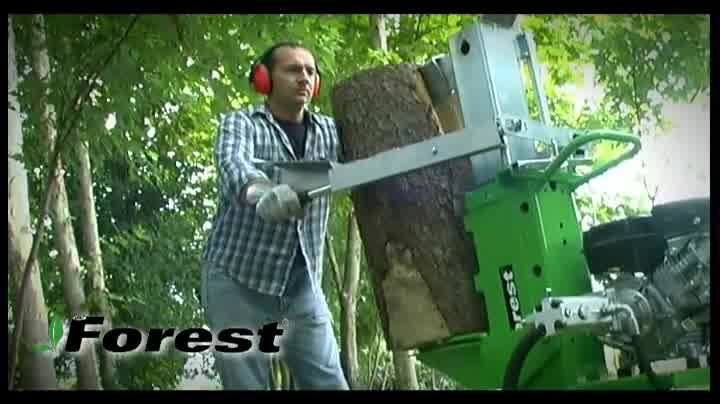 Remember: Spaccalegna - Log-splitter - Holzspalter - Fendeuse SF100 RAPID BENZ SUB - www.docma.it