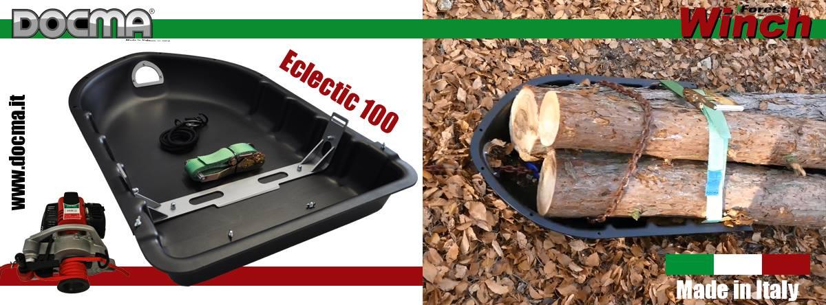 Slitta/Sleigh/Traineau Eclectic100 - www.docma.it