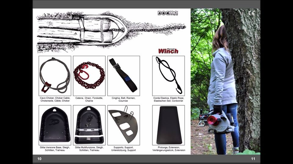 The Preview of the new catalog Forest Winch with VF80 BOLT, VF105 RED IRON and accessories.