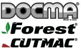Toutes les machines marquées Docma / FOREST et les machines Docma / CUTMAC GAMMA ROSSA sont produites dans notre usine ...