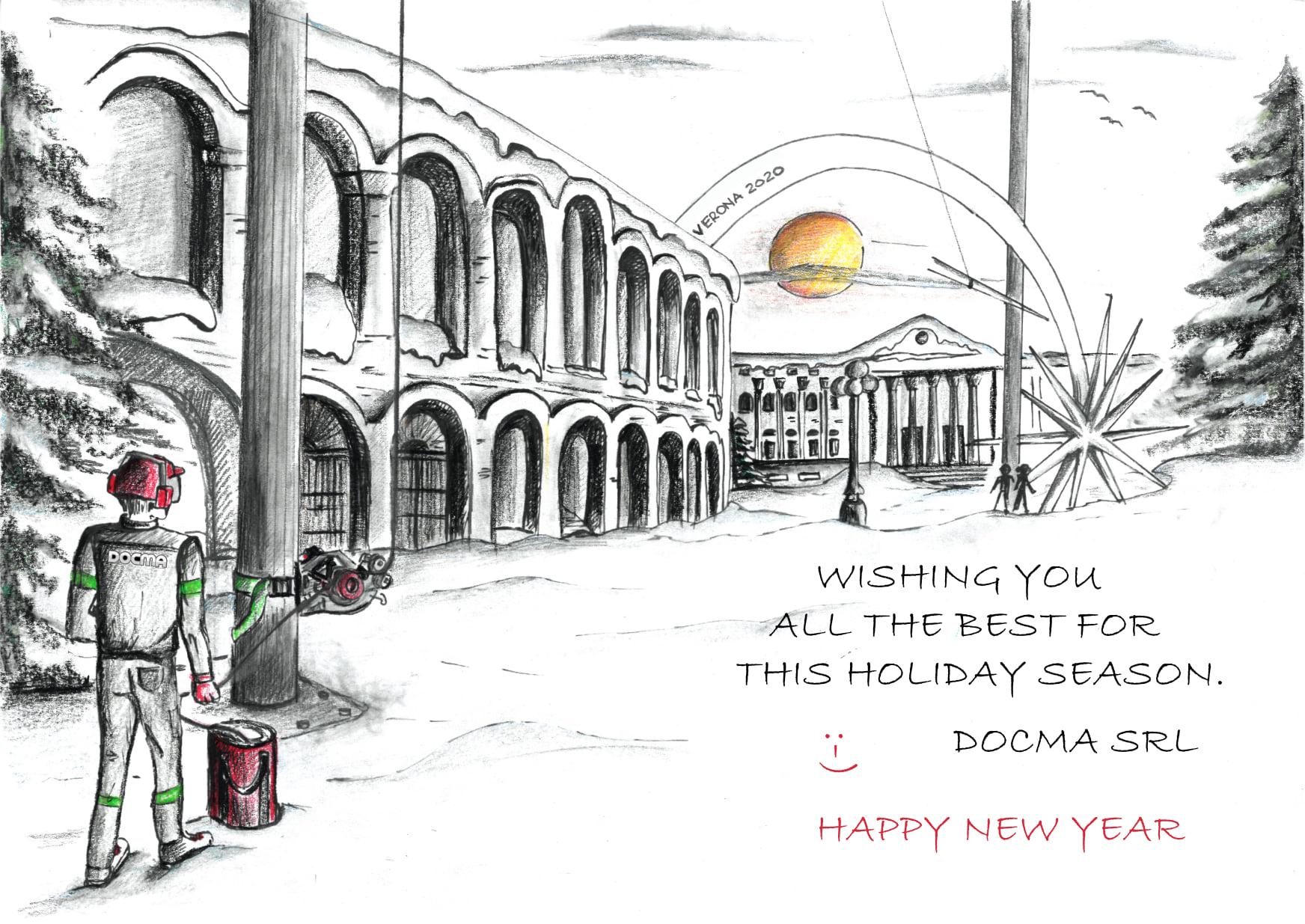 Frohe Feiertage von Docma Srl.